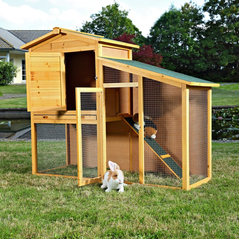 jaula para conejos grandes
