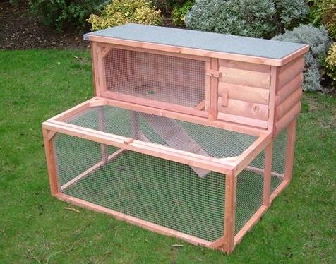Como hacer fácilmente una casa para conejos