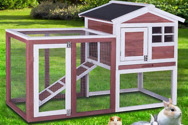 Como hacer una casa de conejos casera