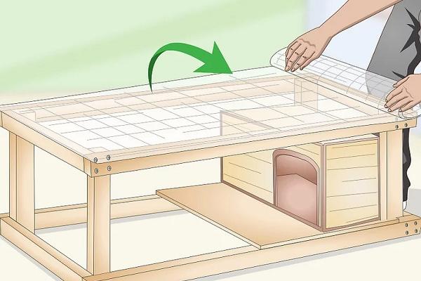 Como hacer una casa de madera para conejo