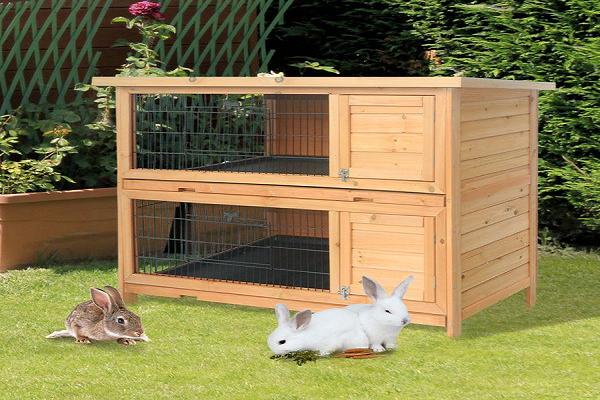 Para que sirve una casa de madera para conejos