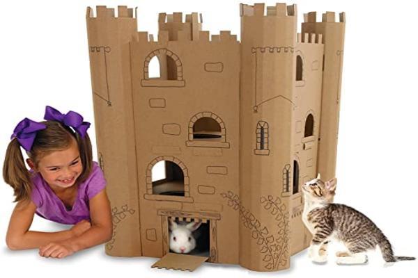 Pasos para hacer una casa de cartón