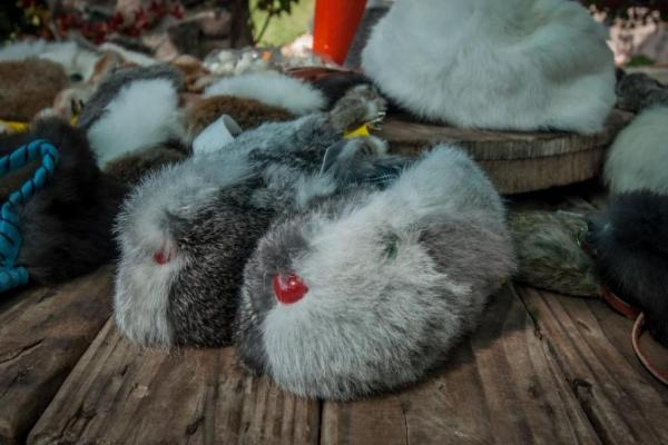 El pelo de conejo es malo para el comercio